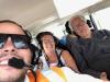 De co-piloot maakt nog een foto, alles voor de 'tip'