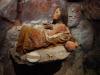 In het kleine museum maken we  kennis met de Inca cultuur en ook hier de beeltenis van Juanita