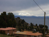 Het uitzicht vanaf onze balkon