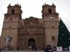 De Basiliek Kathedraal op de Plaza de Armas