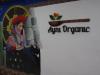 We eten we hapje in 50 tot 100 meter hoger gelegen Ayni Organic