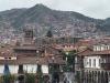 De stad strekt zich uit tot in d bergen