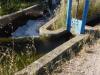 Irrigatiekanalen zorgen ervoor dat de gewassen water krijgen