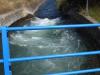 Met veel kracht gaat het water door het irrigatiekanaal