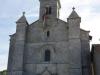 De kerk van Aureil