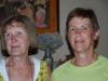 Links AnneMarie en rechts Michele