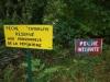 Vissen verboden