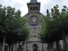 De kerk van Burguete