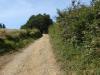 De laatste kilometers naar Leboreiro stijgen we in de brandende zon