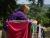 AnneMarie doet een wasje, net als wij trouwens