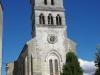 De kerk van Thiviers