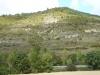 De camino loopt over deze berg