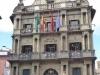 Het stadhuis van Pamplona