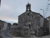 De kerk van Leboreiro is nog niet open als we het dorp uitlopen