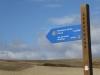 De camino wordt goed aangegeven