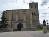 De kerk van Villatuerta, nog zo'n 4 km te gaan vandaag