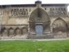 De oude kerk van Estella, verlaten en vervallen