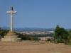 Vanaf de top hebben we een schitterend uitzicht op Astorga en haar voorstad