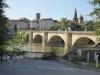 De oude brug over de Ebro