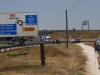 Burgos, nog zo'n 9 km naar het centrum, zegt ons boekje
