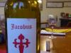 Jacobus wijn drinken we in Hotel Jacobus