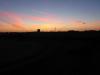 Langzaam komt de zon op
