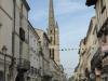 Net na half 9 lopen we Sainte-Foy-la-Grande uit