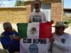Onze Mexicaanse vrienden blijken alpinisten te zijn en trots op hun vaderland