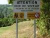 Pas op voor pèlerins, niet harder dan 70