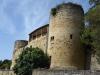 De oude stadsmuren van La Réole
