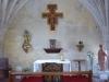 De kapel, naast de kerk van Roquefort