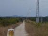 Het pad van Valdeviejas naar El Ganso