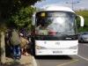 Met de bus vervolgen we uiteindelijk onze reis naar Orval