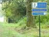 In Les Landes is de pèlerin belangrijk, de camino wordt goed aangegeven