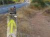We verlaten de LE 6304 en beginnen op het naastgelegen pad de klim naar Rabanal del Camino