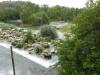 Het water in de l'Adour stroomt snel