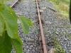Een stukje van het verdwenen spoor duikt plotseling op