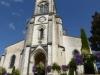 De kerk van Hagetmau