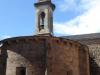 Cacabelos, de tot albergue omgetoverde kerk, waar Griet en Elisabeth vannacht slapen