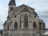 De kerk van Orthez
