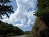 De eerste wolken verschijnen al aan de horizon