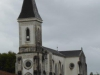 De kerk van Osserain-Rivareyta