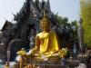 Gouden Boeddha voor de Zilveren Tempel