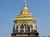 De Stupa bij Wat Chiang Man