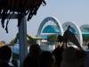 De pier van Koh Samed in zicht
