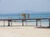 De pier van het Pandora Resort