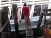 De loopplank naar de pier