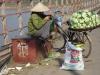 Handel op de Long Biênbridge