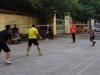 Badminton op straat, voor jong en oud